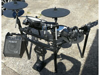 Roland V-Drums TD-25KV with PM-10 Personal Monitor