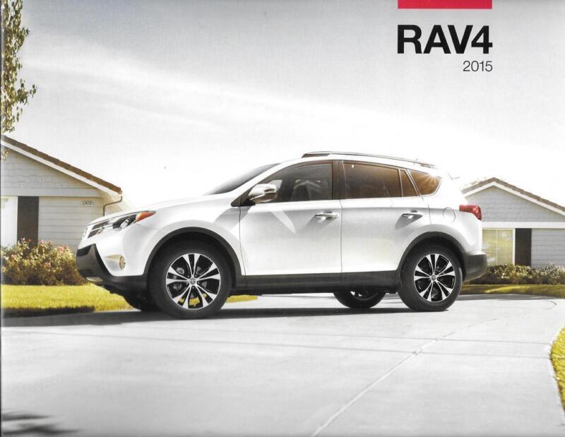 2015 15 Toyota  Rav4  original sales brochure