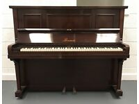 ***CAN DELIVER*** LOVELY OVERSTRUNG MAHOGANY PIANO ***CAN DELIVER***