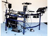Amazing Electronic Drum Kit Roland TD10 With Expanded TDW-1 Module