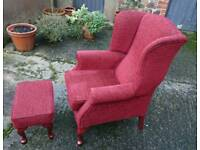 HSL Armchair and Footstool