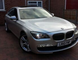 BMW 730D M SPORT , SUNROOF TOP SPEC OPTIONAL EXTRAS