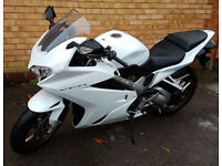 Immaculate Honda VFR800 only 1425 miles, garaged, heated grips, rear hugger, full digital display