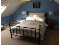M&S Double bedroom furniture bed side drawers and chest of drawers and mattress