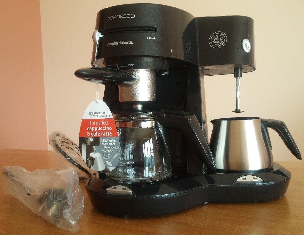 Brand New Morphy Richards Espresso Coffee Maker With Milk Frother In Canary Wharf London Gumtree