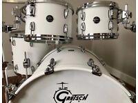 Gretsch Renown Maple Kit (Matt White Shell Pack)