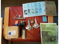 Morris minor parts and books