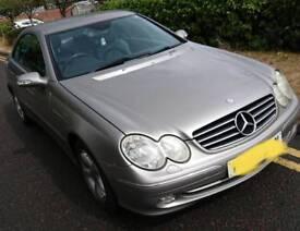 Mercedes 320 clk