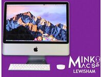 APPLE IMAC 20' DESKTOP 2.4GHZ 4GB 250GB LOGIC PRO X REASON CUBASE FL STUDIO FINAL CUT PRO ADOBE CS6