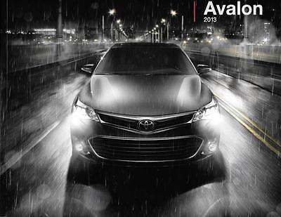 2013 13 Toyota Avalon oiginal sales brochure MINT