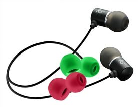 KitSound Ace In-Ear Headphones Compatible with iPod/iPad/iPhone/Samsung/Android Devices - Black.