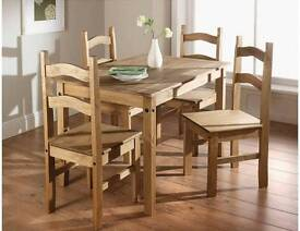 Rio 5 piece table and chairs
