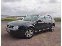 Volkswagen Golf Mk4 5 Door Black 2004