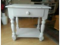 Shabby chick bedside / coffee / Side table
