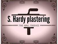 S. Hardy plastering services. Now using silk plaster.