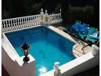Special 2 Bedroom Holiday Apartment with Private Pool near to Beach in Mijas Costa, Costa del Sol