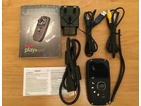 KODAK PLAYSPORT ZX5 UNDERWATER CAMCORDER, BOXED AND AS NEW.