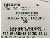 OMD - Summer Nights Kelvingrove Bandstand