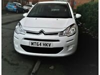 2014 (64) Citroen C3 1.0 VTi PureTech VTR+ 5dr £20 Road Tax.