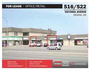 516 & 522 Victoria Ave - Office/Retail Spaces for Lease!