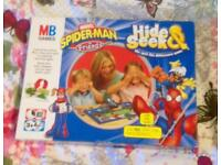 Marvel Spiderman & Friends Hide And Seek Spot The Difference Game. Complete VGC.