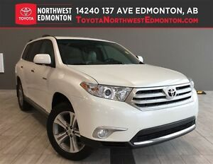 2012 Toyota Highlander 4WD V6 Limited | Heat Leath Seats | Nav |