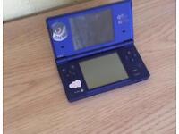Midnight blue Nintendo DSi