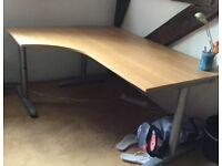 Two Ikea desks for sale