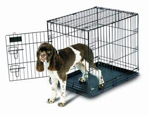 "New Petmate Training Retreat, Black, Medium Wire Kennel, 24"" x 18"" x 21"" (Pick-up Only) - PU8"