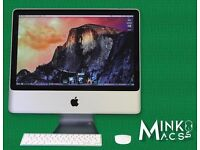 "24"" Apple iMac 2.8Ghz Core 4gb Ram 1TB HDD Reason Logic Pro X Cubase Native Massive FM8 Pro Tools 10"