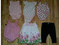 Baby Girls Summer Clothes Bundle Size 3-6 Months