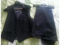 Brand new waist coat and trousers