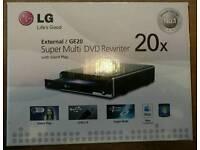LG external DVD drive