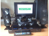 Samsung Blu-Ray Player 5.1ch DVD HD 525W Home Cinema Theater System, USB, MP4, divx, OPT, HDMI