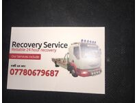 Breakdown recovery service 24/7 with cheap price £25 07780679587