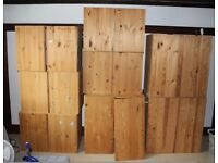 Ikea IVAR Pine Cabinets of various sizes - 8 for sale in total - £10 each