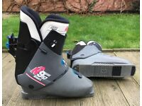 NORDICA Grey Ski Boots Size About UK 7 or 8 (41/42)
