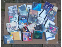 A variety of 34 music cds from Dido, classical to Travis - ideal for guest house/holiday let