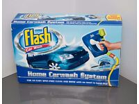 Flash Home Car Wash System Hose Pipe Sprayer with Shampoo and AutoDry Filter - Brand New & Boxed