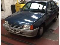 Vauxhall Astra Mk2 12 months mot one owner