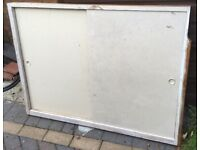 FREE wooden sliding doors with frame