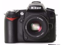 WANTED Old Nikon D70, D80, D90 camera, functional WANTED