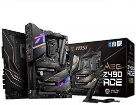 *BRAND NEW* MSI MEG Z490 ACE Motherboard ATX, LGA1200, DDR4, Dual LAN, 802.11ax WiFi 6
