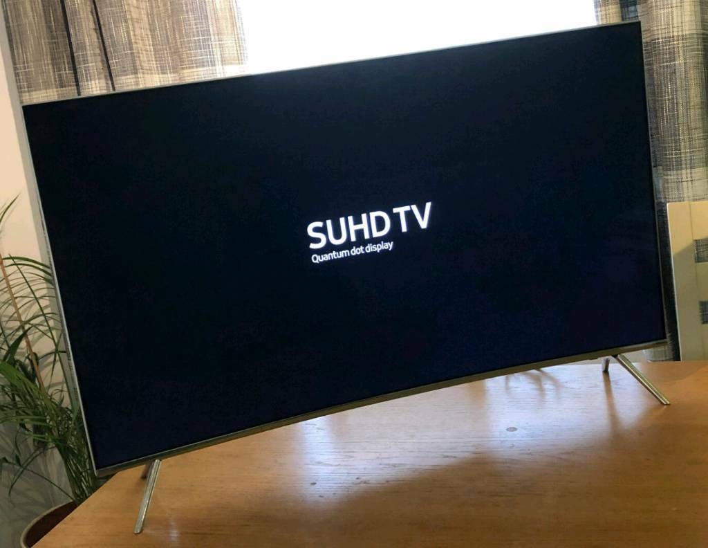 43in Curved Samsung Smart 4K HDR 1000 SUHD Quantum Dot LED TV Warranty | in  Brentry, Bristol | Gumtree