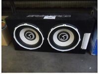 Bassface 12.2 sub with amp