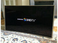 55in Curved Samsung 3D SUHD 4K Nano Crystal Smart LED TV [NO STAND]