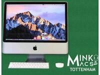 APPLE iMAC DESKTOP COMPUTER 20' 2.4Ghz 4GB RAM 320GB HDD LOGIC PRO X REASON ABLETON 9 WAVES IZOTOPE