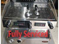 Two group Italian commercial coffee machine - Sanremo