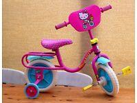 Hello Kitty ( NEW ) 2 IN 1 TRAINING BIKE