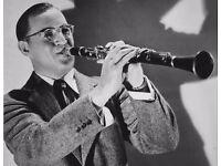 Swinging jazz band seeks clarinettist